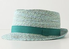 Saltwater Fedora Hat Anthropologie