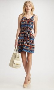 marc jacobs frida flag print dress