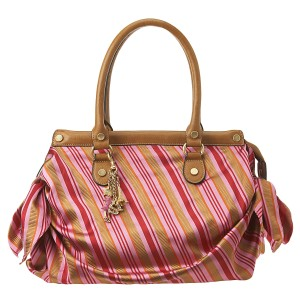 rose multi double satchel nine west
