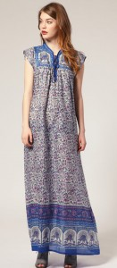 Maison Scotch maxi kaftan dress