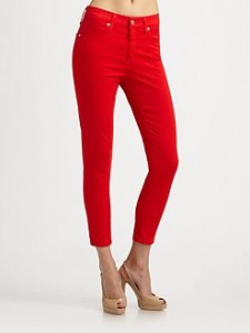 ag adriano goldschmied skinny cropped jeans