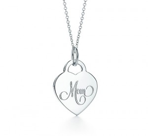 mom heart tag silver tiffany & co
