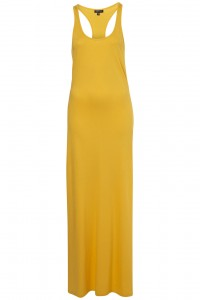 yellow maxi dress topshop