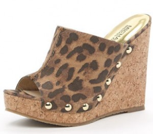 michael kors cheetah platforms wedges
