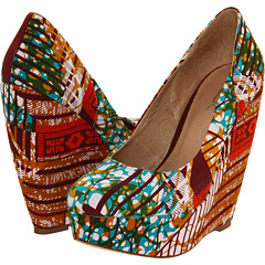 Aldo print platform shoes womens