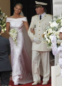 princes charlene wittstock royal wedding prince albert