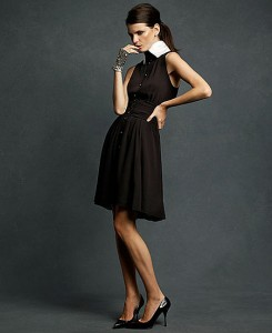 karl lagerfeld for macys black dress